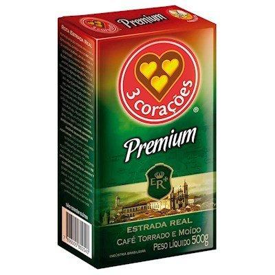 3 Coracoes Cafe Premium 500Grams