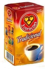 3 Coracoes Cafe Tradicional 250Grams
