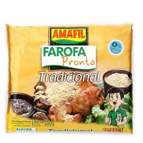 Farofa Pronta Tradicional 500g (1.1 lb);
