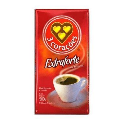 3 Coracoes Brazilian Coffee Extra strong 17.6 ounce