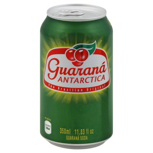 Guarana Antarctica Brazilian soda 355ml Single can