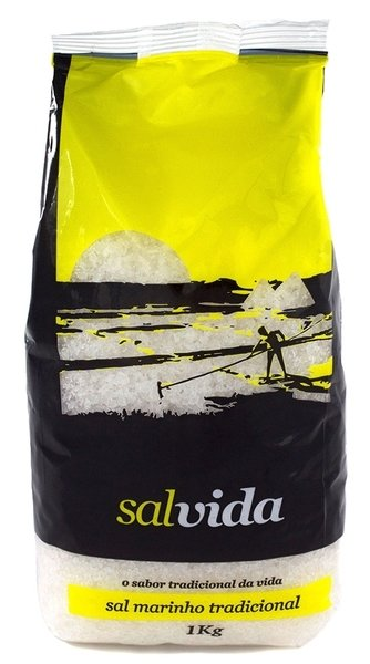 Salvida  Sea Salt- Sal Grosso para churrasco 1kg