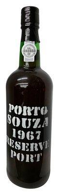 Souza 1967 Reserve Port 750 mL, 20% abv