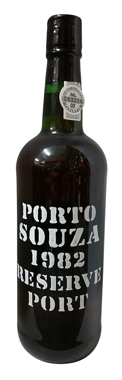 Souza 1982 Reserve Port 750 mL, 20% abv