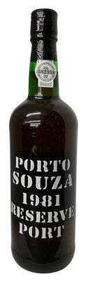 Souza 1981 Reserve Port 750 mL, 20% abv