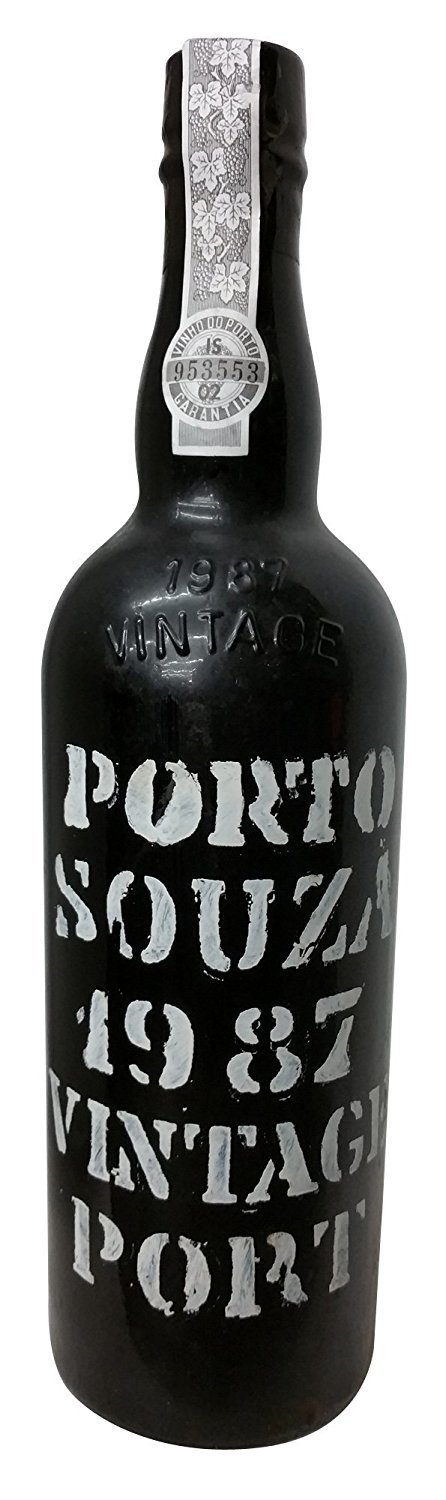 Souza 1987 Vintage Port 750 mL, 20% abv