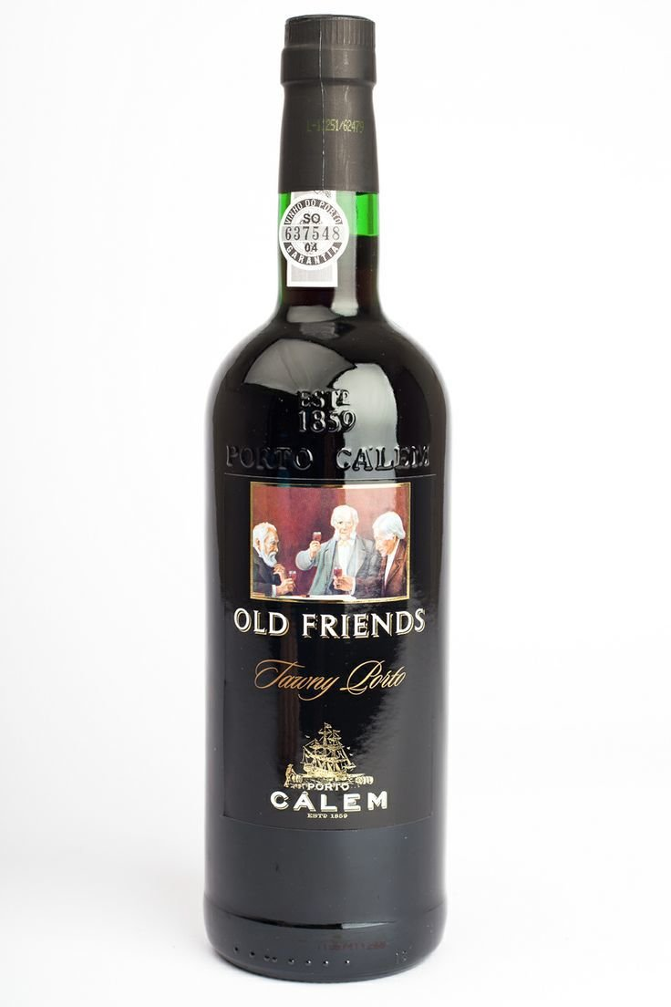 Calem Port, Old Friends tawny Port, 750mL, 19% ABV