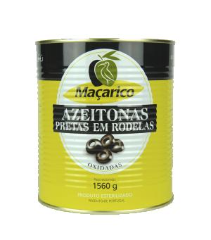 Macarico Azeitona preto- Black Olives-850g 450g