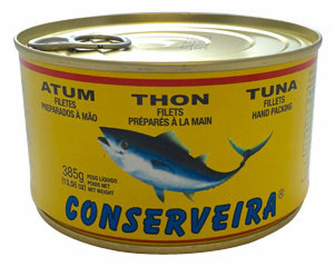 Conserveira Atum em posta- Tuna Fillet 385g-13.58oz