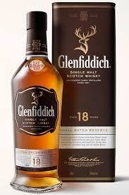 Glenfiddich Single Malt Scotch Whiskey - 18 Yr Old  750mlU