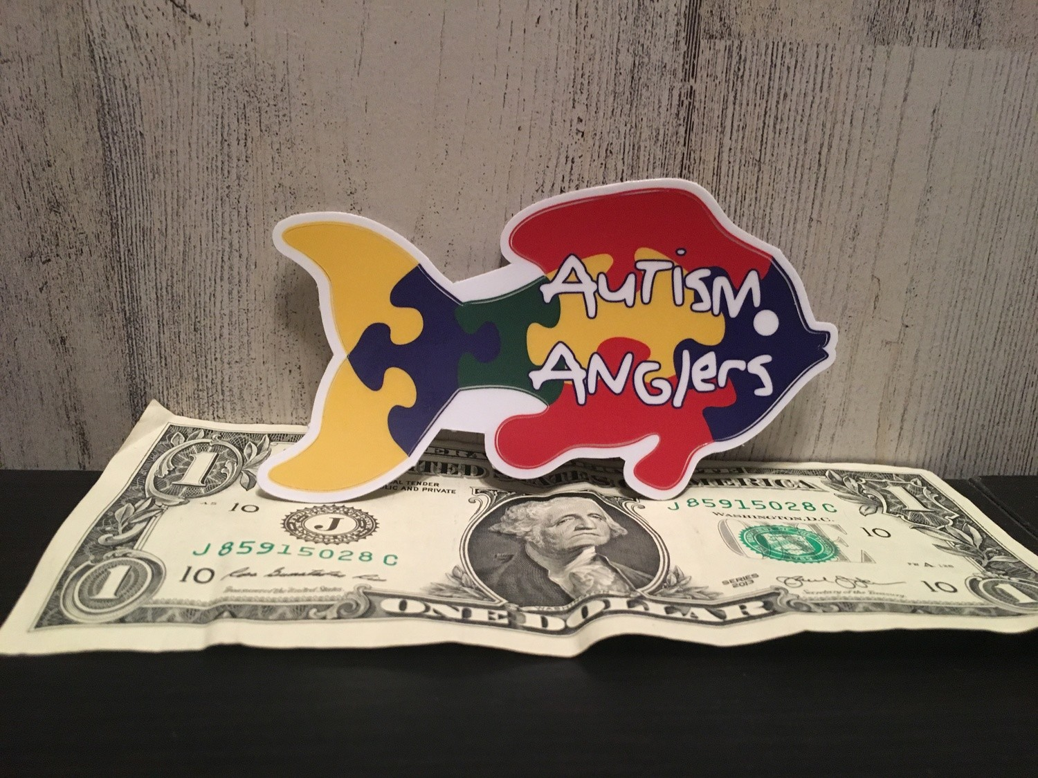 "4"" Autism Anglers Decal"