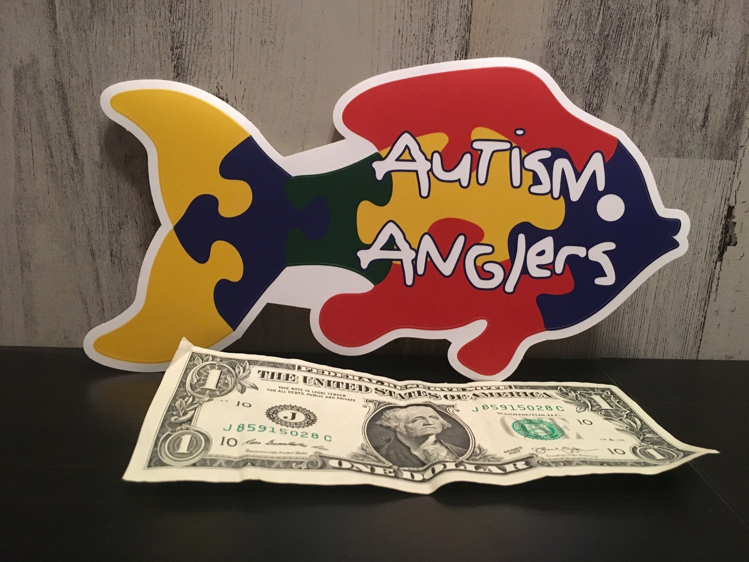 "8"" Autism Anglers Decal"