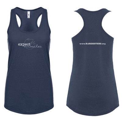 Women's Racer Back Tank- Expect Miracles