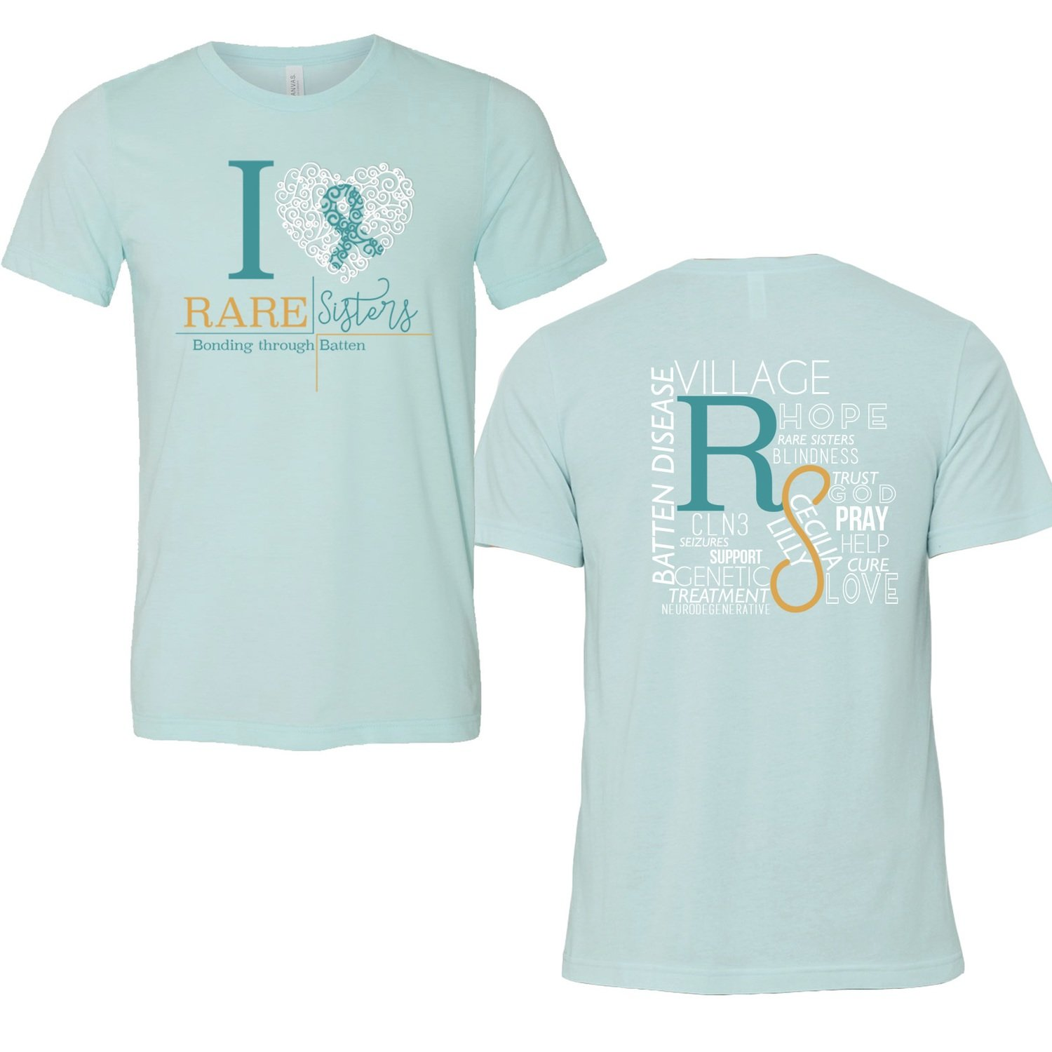 Adult T-Shirt Teal