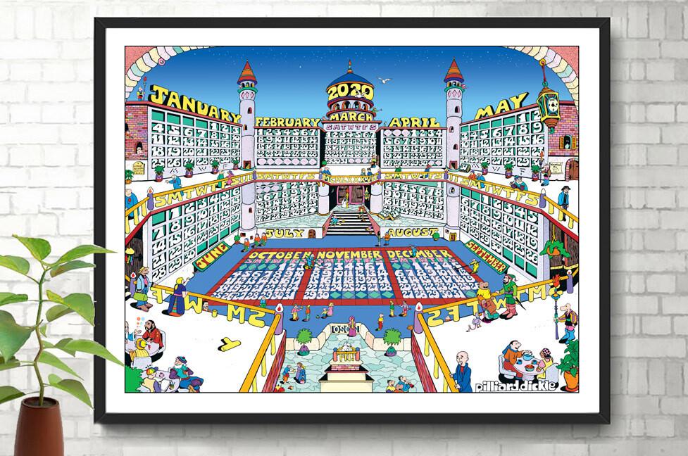 2020 Palace Calendar