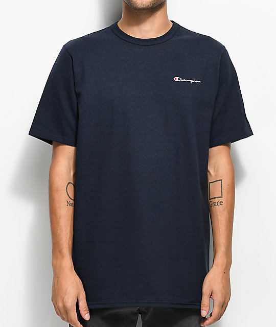 Champion x POKEBAR Navy Tee