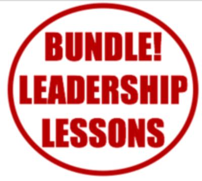 BUNDLE - ALL 18 LEADERSHIP LESSONS