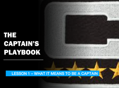 THE CAPTAIN'S PLAYBOOK - LESSON 1