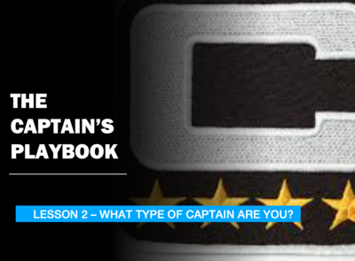 THE CAPTAIN'S PLAYBOOK - LESSON 2