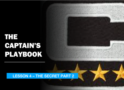 THE CAPTAIN'S PLAYBOOK - LESSON 4
