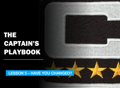 THE CAPTAIN'S PLAYBOOK - LESSON 5