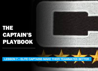 THE CAPTAIN'S PLAYBOOK - LESSON 7