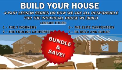 BUILD YOUR HOUSE - ALL 4 LESSON BUNDLE