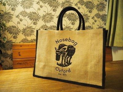 Nosebag Oxford Jute Shopper
