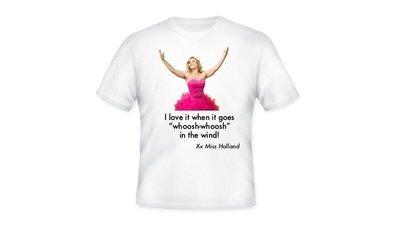 Miss Holland Whoosh-Whoosh T-shirt