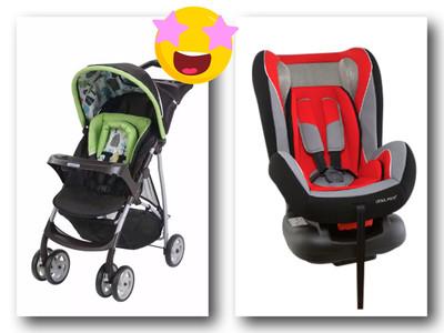 Jogging Full Size Stroller Graco + Infant/Toddler/ Car Seat