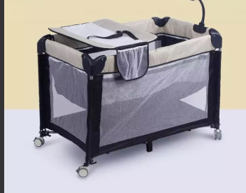 Portable Baby Cot with Linen  00000
