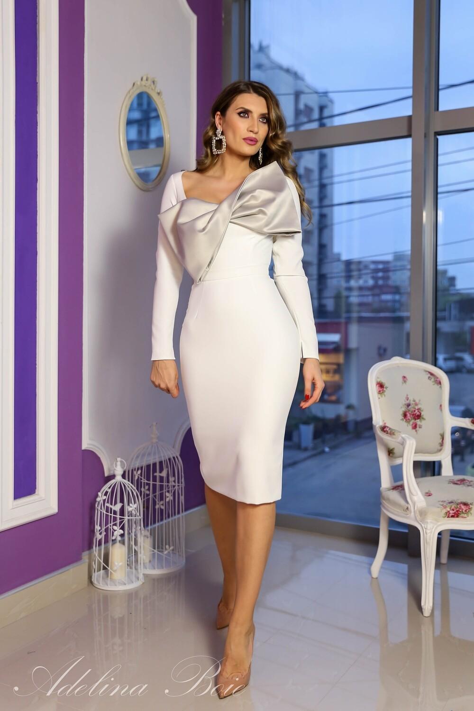 Rochie model Ines White