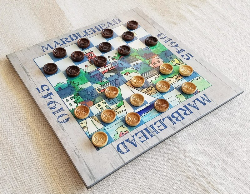 Marblehead WaterScape - Checkers Set
