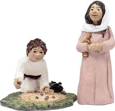 Nativity Figures - Miriam & Jesse, Children