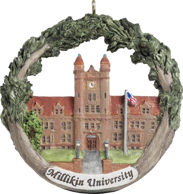 AmeriScape Ornament Millikin University