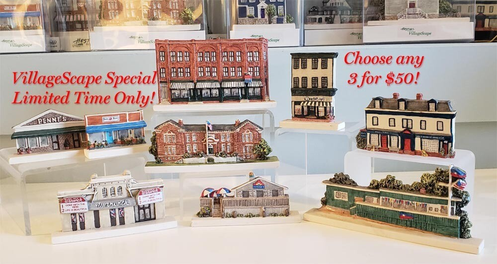 Remember When! - Buy 3 of these VillageScapes and Save!