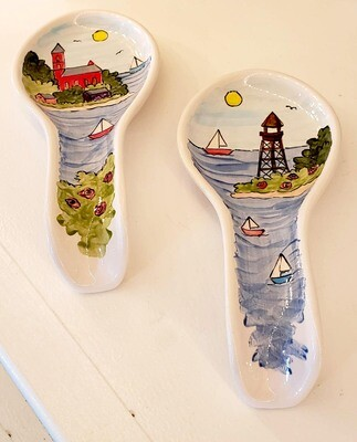 Marblehead Ceramics  Spoon rest