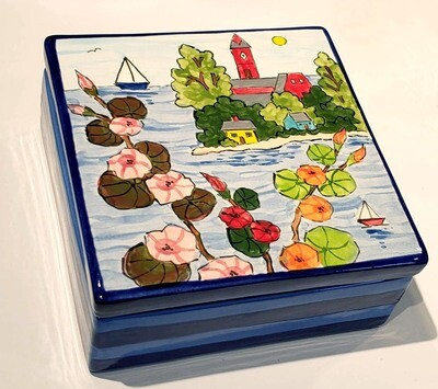 Marblehead Ceramics  Jewelry Box