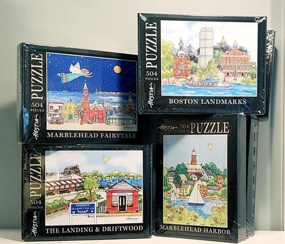 Marblehead WaterScape 504 piece Jigsaw Puzzles