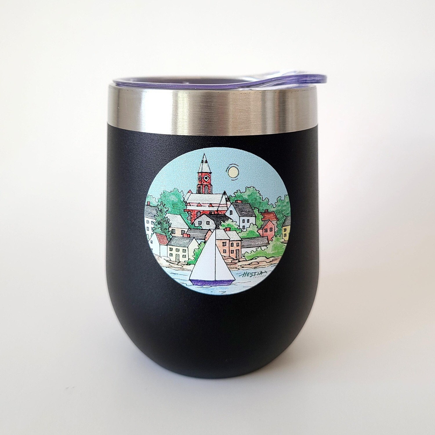 Marblehead WaterScape - 12 oz Insulated Tumblers