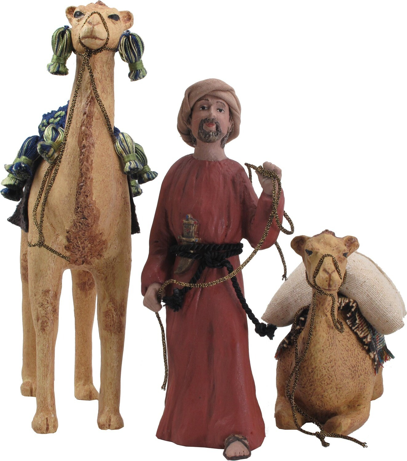 Camel Set - Your choice of Camel and Musad, the Camel Driver