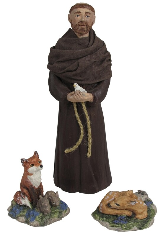 St Francis and the Forest Creatures