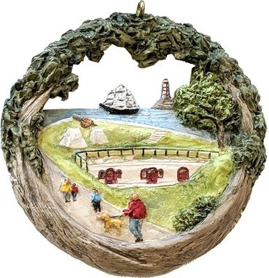 2020 Marblehead Annual Ornament - Fort Sewall 375th Anniversary