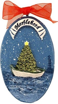 Christmas in Marblehead Ornament