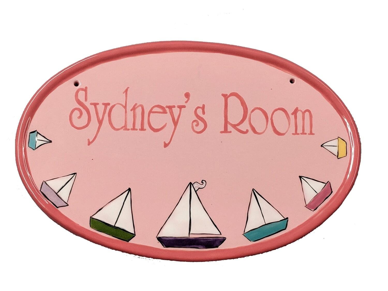 Children's Room Custom Name Plaque