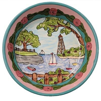 Marblehead Ceramics -  Individual Pasta Bowl 7.75