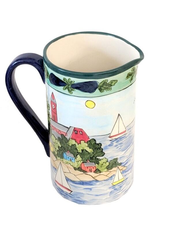 Marblehead Ceramics - Ice Tea Pitcher
