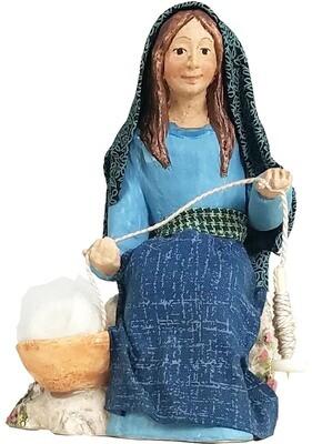 Nativity Figure - Akhati Weaver