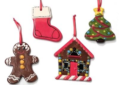 Acrylic Holiday Ornaments