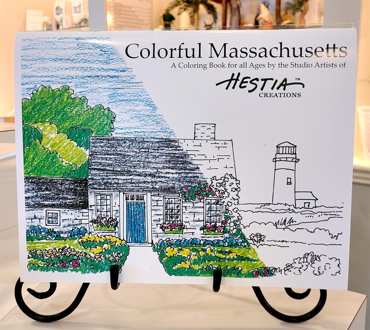 Coloring Book - Colorful Massachusetts